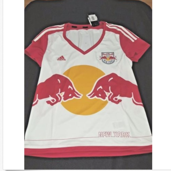 3f26f367d19 MLS Women Short Sleeve New York Red Bulls Jersey. NWT. adidas